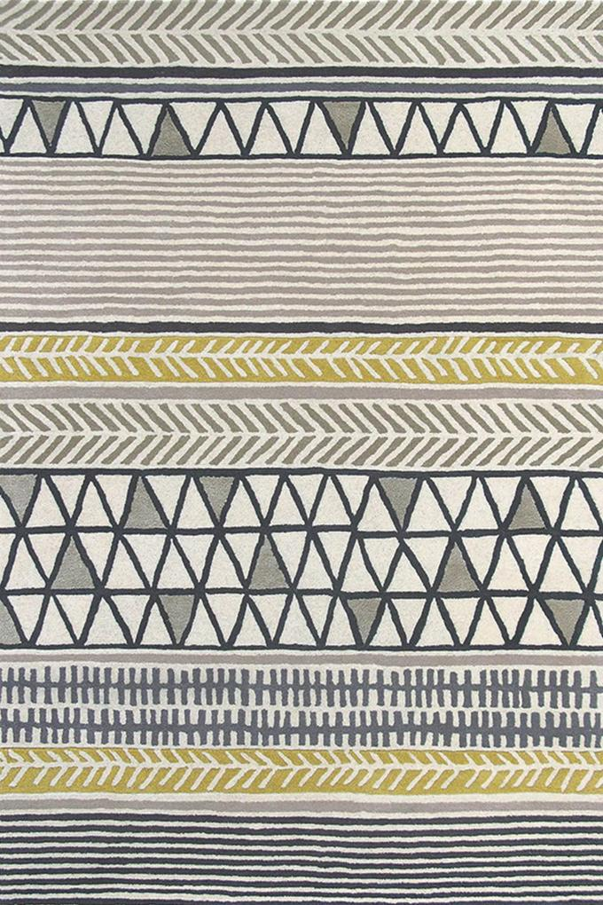 Scion - Raita Taupe 24701 - 140 x 200 - Vloerkleed