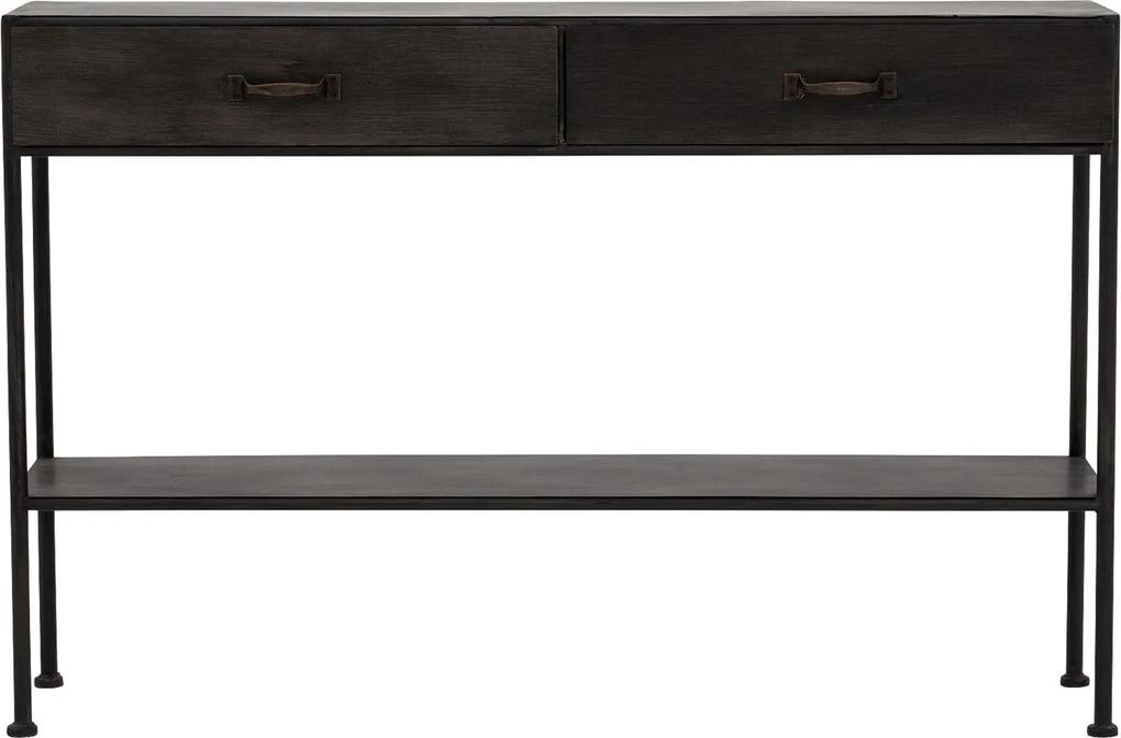 Goossens Sidetable Metal, 122 x 32 cm