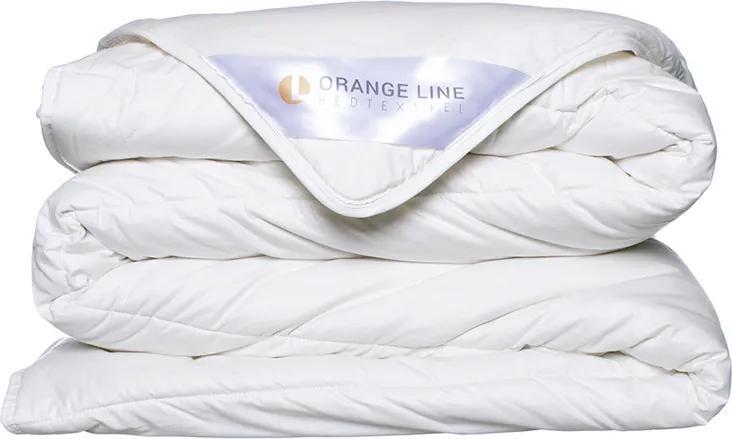 Orange Line Wollen Dekbed - Enkel 140 x 220