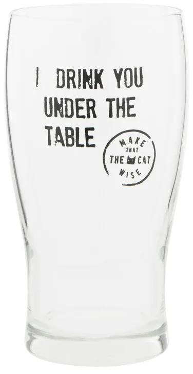 Bierglas Make that the cat wise - 45 cl