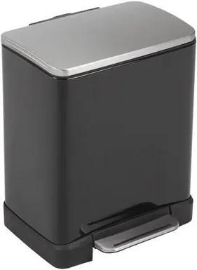Pedaalemmer E-Cube recycling 19 Liter (10+9 L)