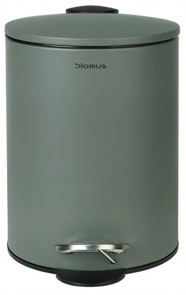 Pedaalemmer Blomus Tubo Soft-Close Deksel 3 Liter Agave Green