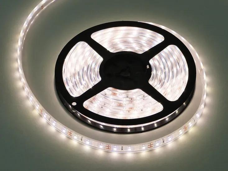 LED Strip, 5 Meter, 7.2 Watt/meter, 2835 LED's, Neutraal Wit, Waterdicht IP68