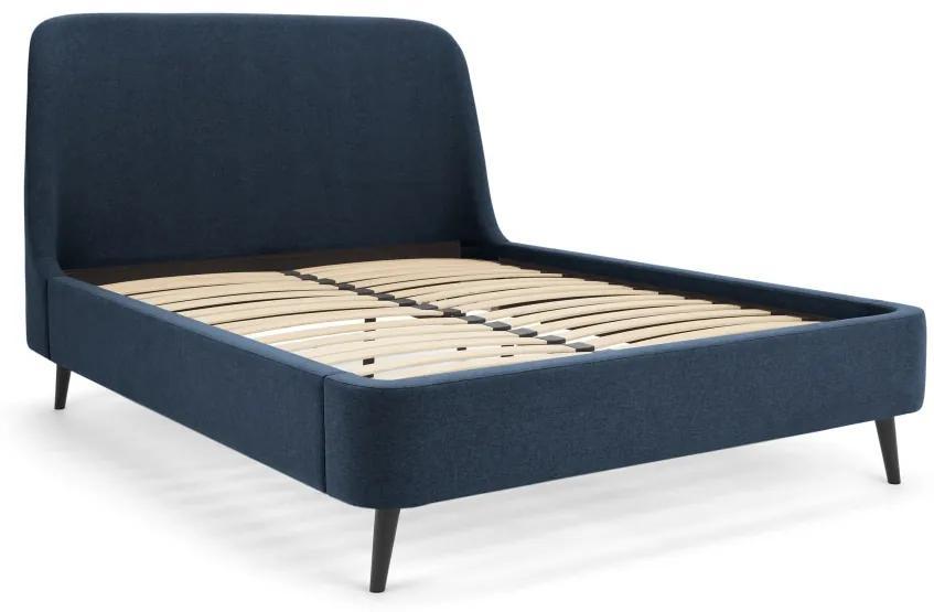 Hayllar super kingsize bed, oceaanblauw