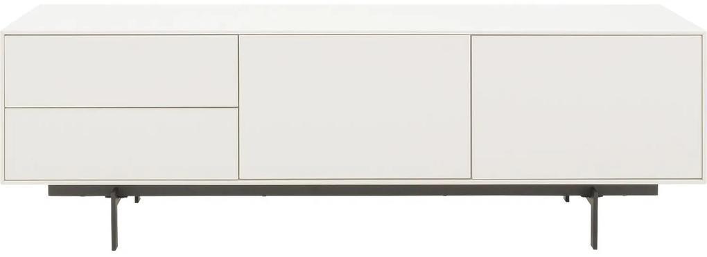 Goossens Basic Tv Meubel Verona, 2 deuren 2 laden 45 cm diep