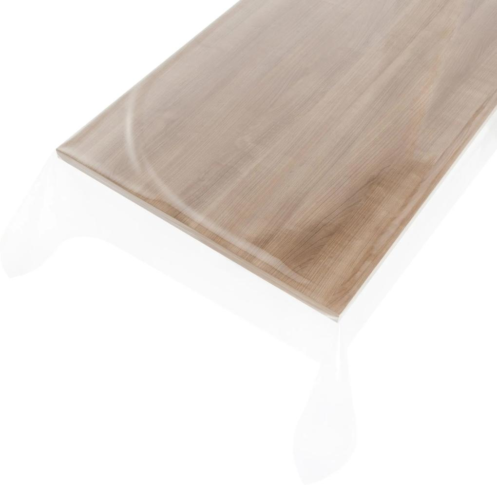 Doorzichtig tafelzeil Glashelder - 0,5mm 140cm