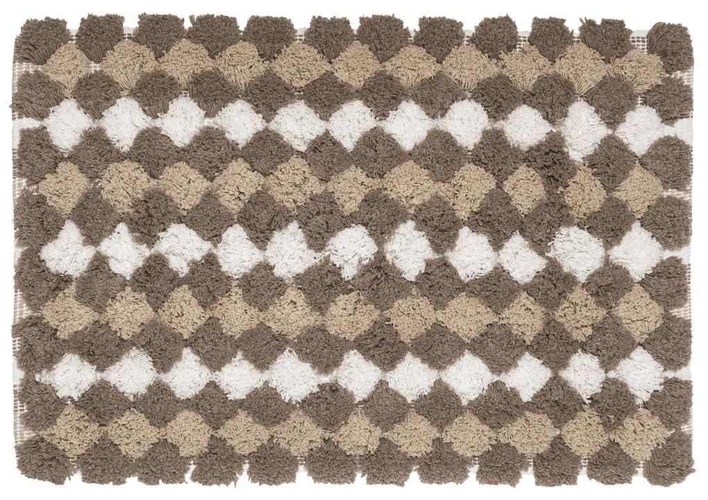 Badmat Sealskin Brilliance Berlin 60x90 cm Zand