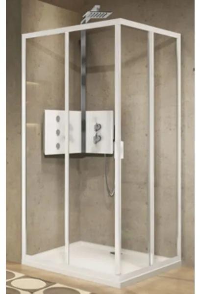 Novellini Lunes 2.0 hoekinstap A m. schuifdeuren 108/111x195cm matchroom/helder LUNA108-1B