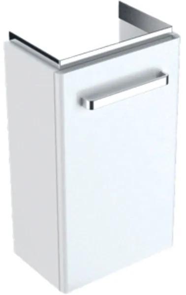 Geberit Renova Compact fonteinonderbouwkast 1 deur 34.8x60.4x25.2cm links/rechts wit 862040000