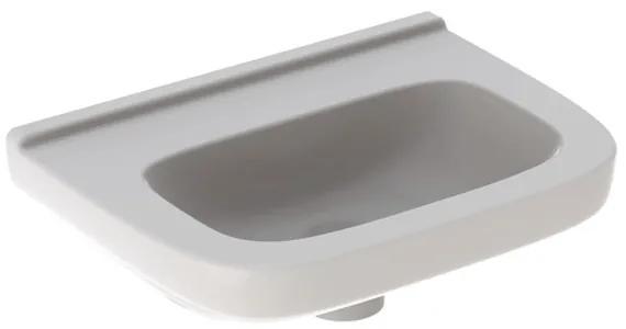 Geberit 300 Basic fontein zonder kraangat zonder overloop 40x25x15cm m. KeraTect wit S8400215001G s8400215001g