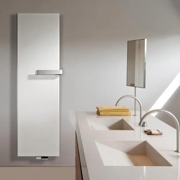Vasco Niva S NS2L1 designradiator dubbel 640X2020mm 1915 watt wit structuur 11198064020201188060