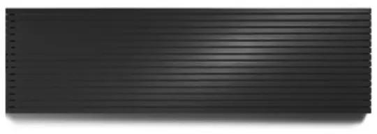 Vasco Carre Plan CPHN2 designradiator dubbel 2600x475mm 2675 watt zwart 111342600047500180300-0000