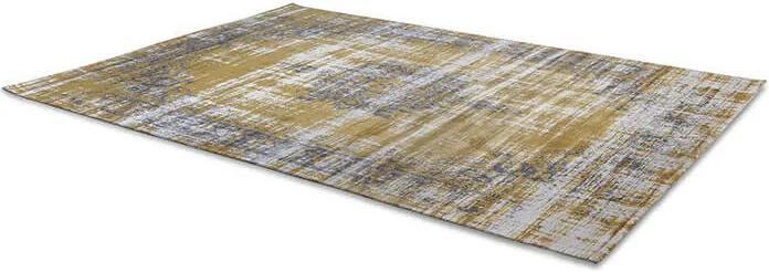Lifa Living Vloerkleed - Vintage - Okergeel 133 x 200 cm