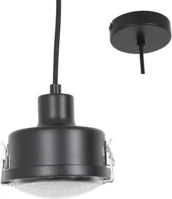Satellite hanglamp Zwart
