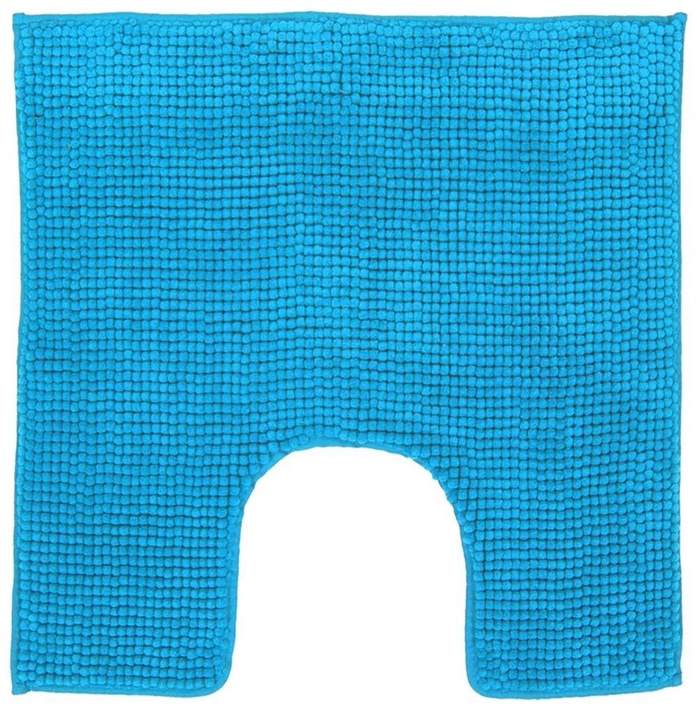 Toiletmat Differnz Candore Antislip 60x60 cm Microfiber Licht Blauw