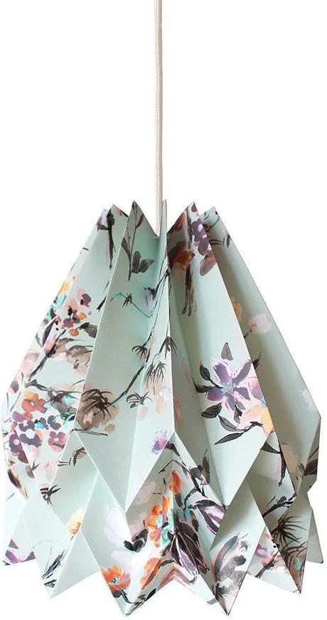 Orikomi Wildflower Origami Hanglamp met koord - Papier- Lamp - Kinderkamer - Slaapkamer - Vrolijk - Kleurrijk - Design