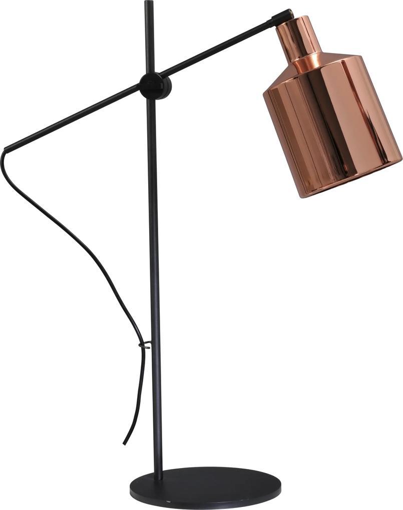 Masterlight Industria | 4020-05-56 | Boris Tafellamp | Glanzend koper | (D) 56 x (H) 71 cm | E27