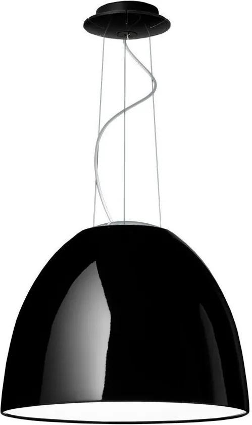 Artemide Nur Gloss Halo hanglamp zwart