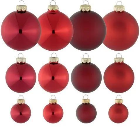 THÜRINGER GLASDESIGN Kerstballen in 40-delige set