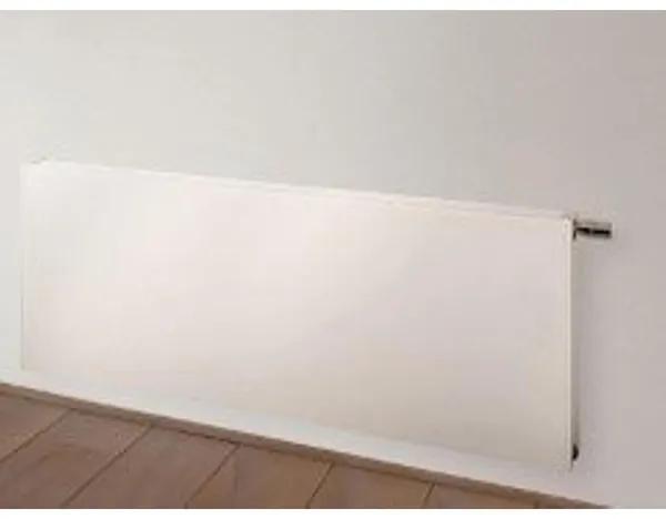 Vasco Flatline Paneelradiator type 22 400x1400mm 1620 watt vlak wit structuur 108F2240140190