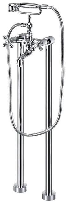 Best Design Liberty vrijstaande badkraan 82cm chroom