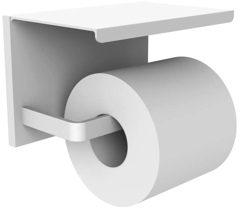 Closetrolhouder Allibert Loft-Game Hangend Mat Wit