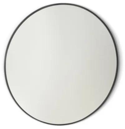 Royal plaza Merlot spiegel rond 100 cm mat zwart