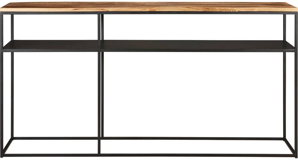Sidetable 160 Cm.Goossens Sidetable Saar 160 X 40 Cm