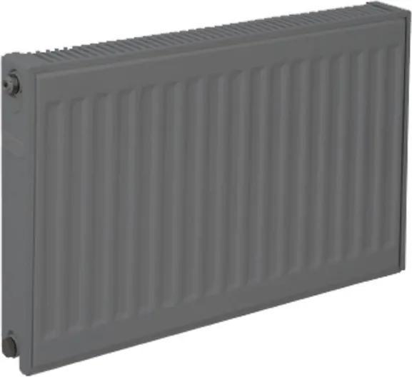 Plieger paneelradiator compact type 22 600x600mm 1052W donker grijs 7341114