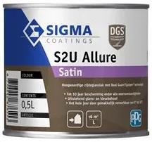 Sigma S2U Allure Satin - Mengkleur - 500 ml