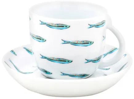 Sardine kop en schotel (140 ml)