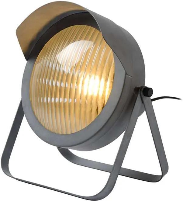 Lucide tafellamp Cicleta - grijs - 29,5x25x30,5 cm - Leen Bakker