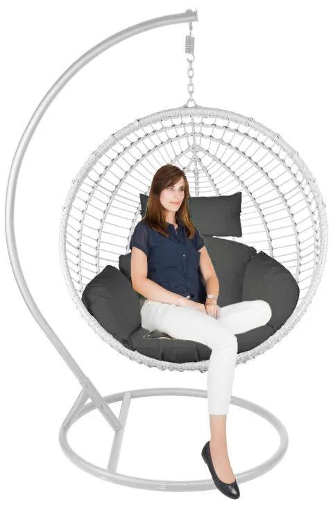 Hangstoel cocoon XL - wit