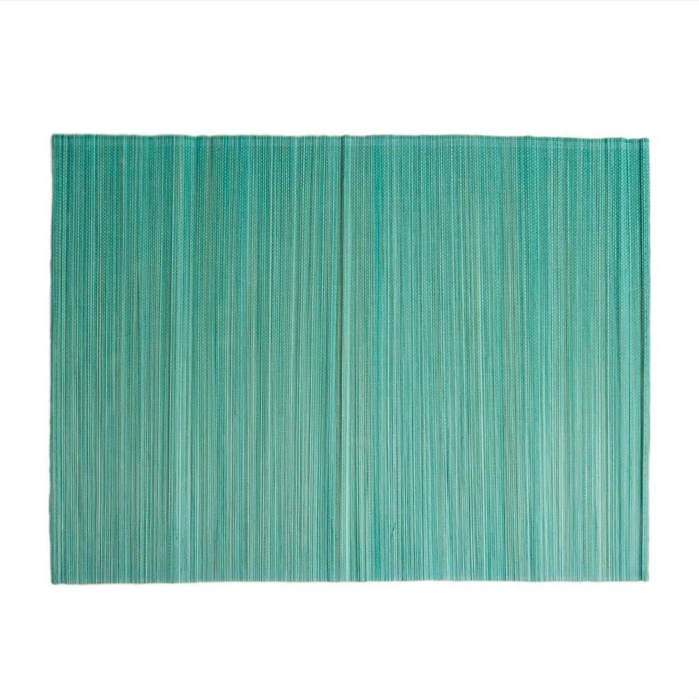 Placemat, bamboe, celadongroen, 33 x 47 cm