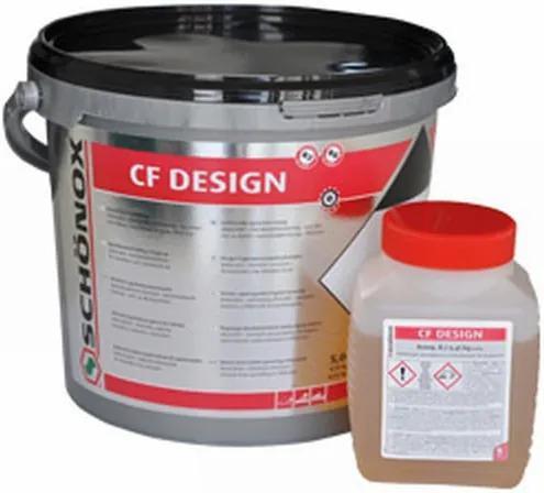 CF Design epoxyharsvoeg emmer à 2, 5 kg antraciet