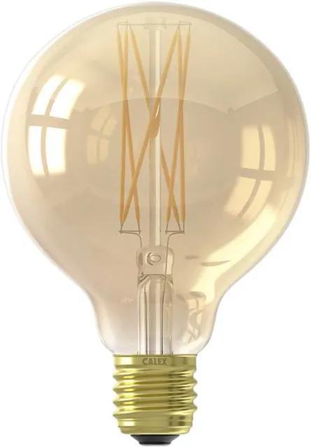 Filamentlamp Led Globe Goud