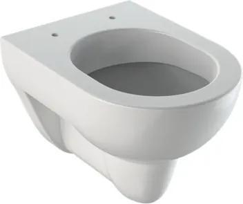 Geberit Renova Compact hangtoilet kort model 480 mm porselein diepspoeler met KeraTect zonder zitting wit 203245600