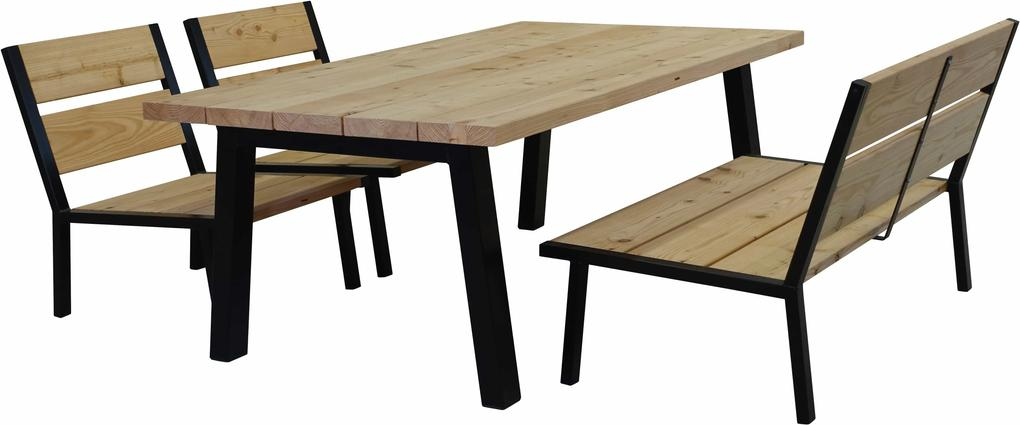 Elbo Low tuinset 4-persoons