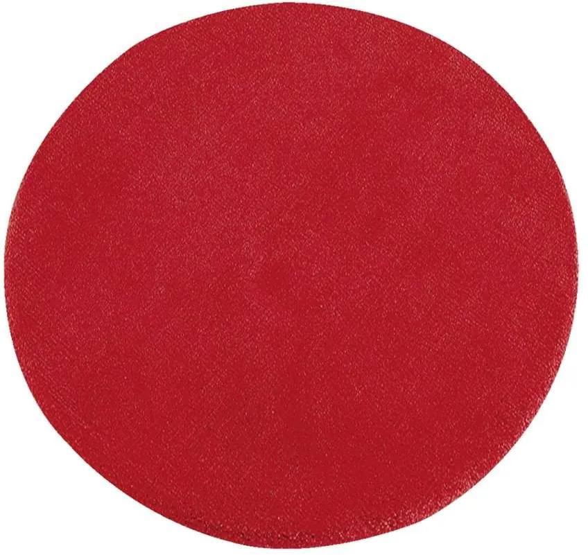 Vloerkleed Colours - rood - Ø68 cm - Leen Bakker