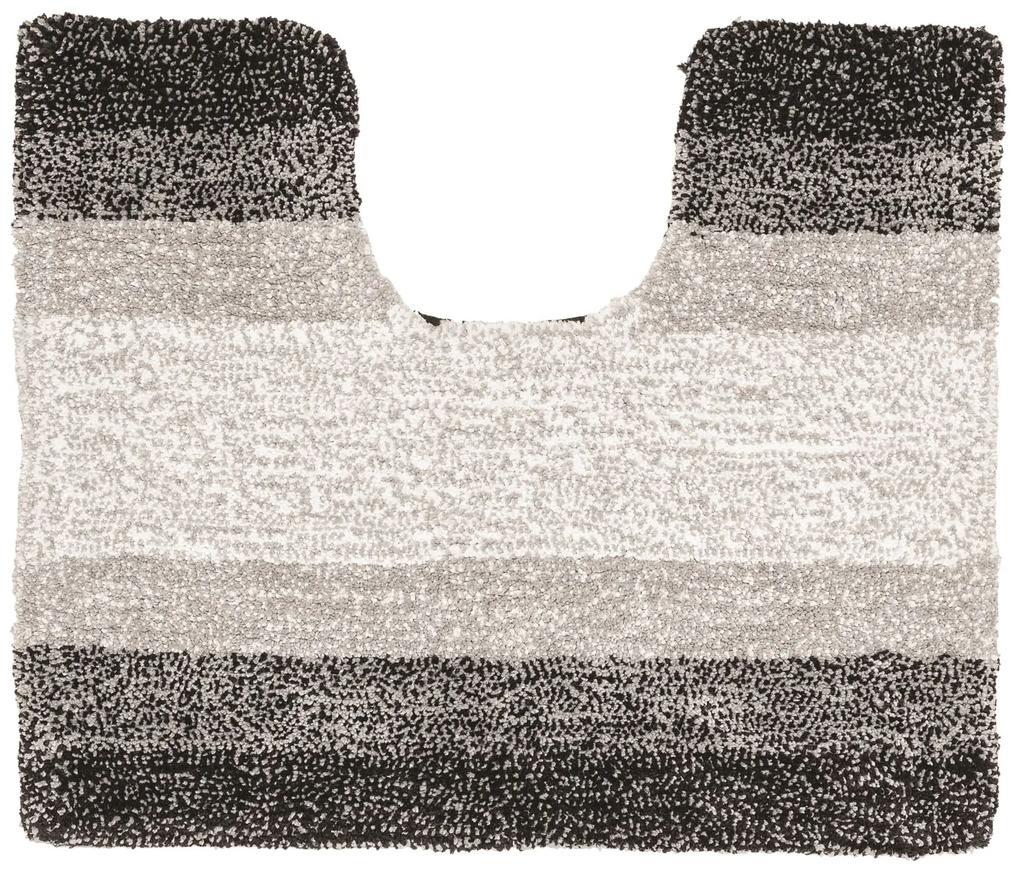 Toiletmat Sealskin Brilliance Oslo 50x60 cm Grijs
