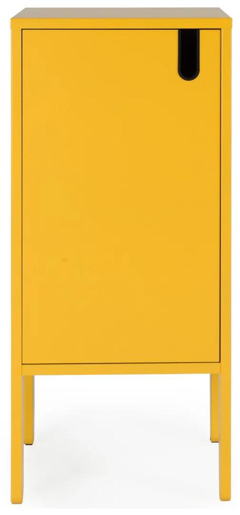 Tenzo Uno Lage Wandkast Geel - 40x40x89cm.