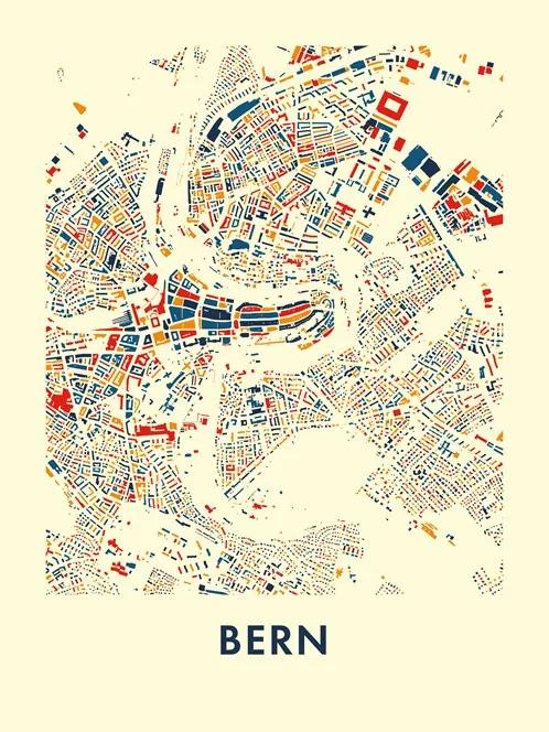 Bern . Mosaic