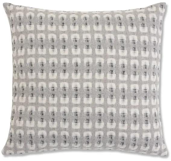Klara omkeerbaar kussen, 50 x 50 cm, zilvergrijze lamswol