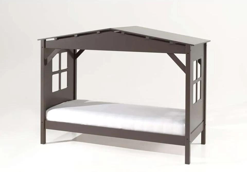 Vipack huisbed Pino - taupe - 160,5x109,5x217 cm - Leen Bakker