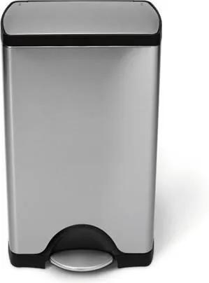 Rectangular Pedaalemmer 38 Liter Vingerafdrukvrij