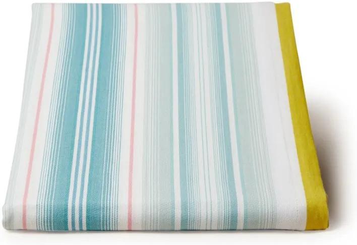 Pip Studio Blushing Birds stripes tafelkleed 250 x 150 cm