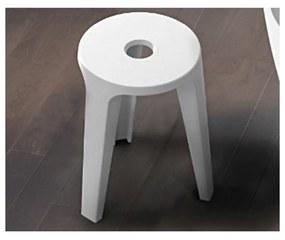 Badkamer Kruk Riho Silla Solid Surface Wit