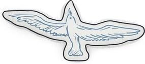 Rivièra Maison - Seagull Box Pillow - Kleur: wit
