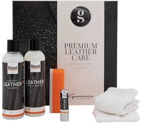 Goossens Onderhoudsmiddel Premium Leather Care Kit, Tbv afgedekt leder (texas/master/royal/oudoor)