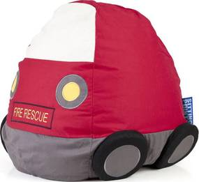 Sitting Point Kinder Zitzak BeanBag Kids Brandweer